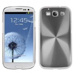 CD stiliaus dėklas - sidabrinis (Galaxy S3)