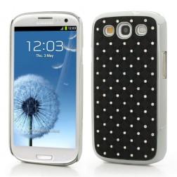 Elegantiškas dėklas - juodas (Galaxy S3)