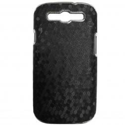 Elegantiškas korėtas dėklas - juodas (Galaxy S3)