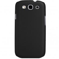 Plastikinis dėklas - juodas (Galaxy S3)