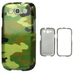 Kamufliažinis dėklas - žalias (Galaxy S3)