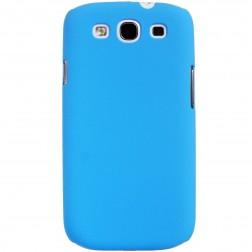 Plastikinis dėklas - mėlynas (Galaxy S3)