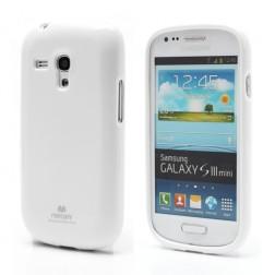 """""""Mercury"""" dėklas - baltas (Galaxy S3 mini)"""