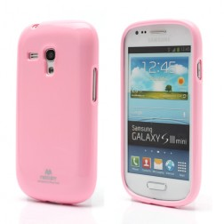 """""""Mercury"""" dėklas - rožinis (Galaxy S3 mini)"""