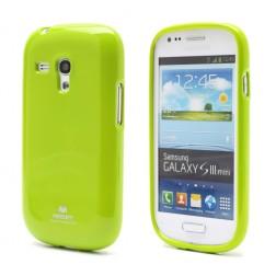 """""""Mercury"""" dėklas - žalias (Galaxy S3 mini)"""
