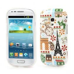 Kieto silikono dėklas - spalvotas (Galaxy S3 mini)