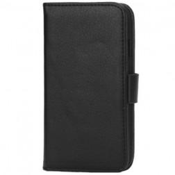 Atverčiamas dėklas - juodas (Galaxy S3 mini)