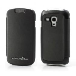 """""""Mercury"""" atverčiamas dėklas - juodas (Galaxy S3 mini)"""