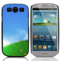 """Dėklas - """"Vasaros pieva"""" (Galaxy S3)"""