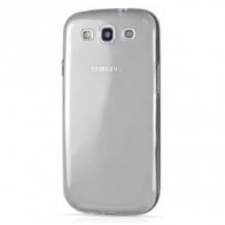 Ploniausias TPU skaidrus dėklas - pilkas (Galaxy S3)