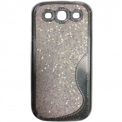 """""""Shining"""" elegantiškas dėklas - baltas (Galaxy S3)"""