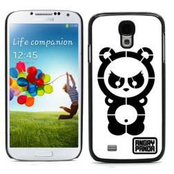 """""""Angry Panda"""" dėklas - baltas (Galaxy S4)"""