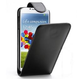 Klasikinis atverčiamas dėklas - juodas (Galaxy S4)