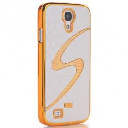 """""""S Snake"""" dėklas - auksinis (Galaxy S4)"""