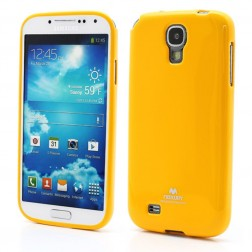 """""""Mercury"""" dėklas - geltonas (Galaxy S4)"""
