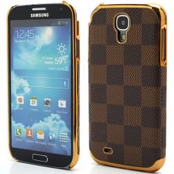 Prabangus languotas dėklas - rudas (Galaxy S4)