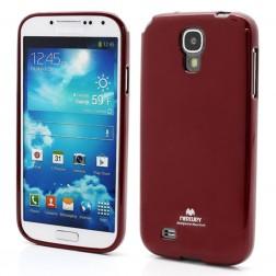 """""""Mercury"""" dėklas - raudonas (Galaxy S4)"""