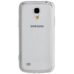Kieto silikono (TPU) dėklas - skaidrus (Galaxy S4)