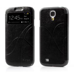 """""""Fimor"""" Feitian atverčiamas dėklas - juodas (Galaxy S4)"""
