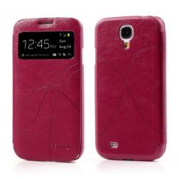 """""""Fimor"""" Feitian atverčiamas dėklas - rožinis (Galaxy S4)"""