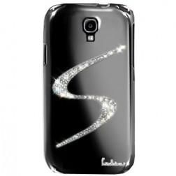 """""""Leshine"""" dėklas - S-Line - sidabrinis (Galaxy S4)"""