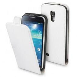 Klasikinis atverčiamas dėklas - baltas (Galaxy S4 mini)