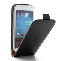Klasikinis atverčiamas dėklas - juodas (Galaxy S4 mini)