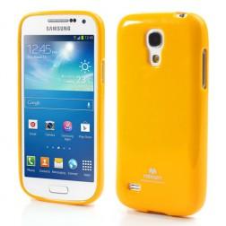 """""""Mercury"""" dėklas - geltonas (Galaxy S4 mini)"""