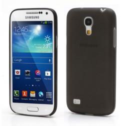 Ploniausias plastikinis dėklas - juodas (Galaxy S4 mini)