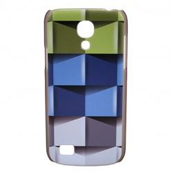 """""""Bullet"""" dėklas - """"Cubes"""" (Galaxy S4 mini)"""