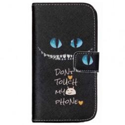 """""""Scary Cat"""" atverčiamas dėklas - juodas (Galaxy S4 mini)"""