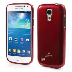 """""""Mercury"""" dėklas - raudonas (Galaxy S4 mini)"""