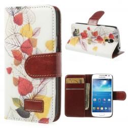 Atverčiamas dėklas (piniginė) - ruduo (Galaxy S4 mini)