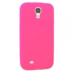 Plastikinis atverčiamas dėklas - rožinis (Galaxy S4)