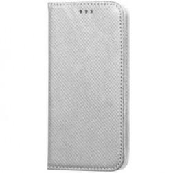 """""""Shell"""" solidus atverčiamas dėklas - sidabrinis (Galaxy S4)"""