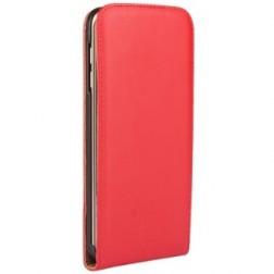 Vertikaliai atverčiamas dėklas - raudonas (Galaxy S4)