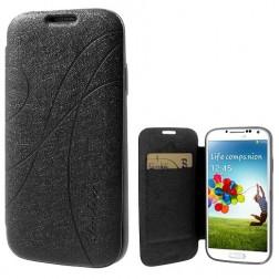 """""""Yastoo"""" Line Silk dėklas - juodas (Galaxy S4)"""