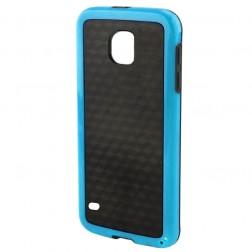"""""""Carbon"""" kieto silikono (TPU) dėklas - juodas (Galaxy S5 / S5 Neo)"""