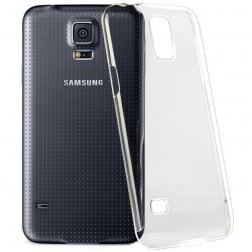 Plastikinis dėklas - skaidrus (Galaxy S5 mini)