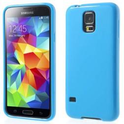 """""""Jelly Case"""" dėklas - mėlynas (Galaxy S5 / S5 Neo)"""