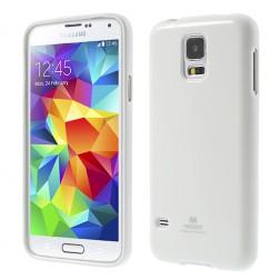 """""""Mercury"""" dėklas - baltas (Galaxy S5 / S5 Neo)"""
