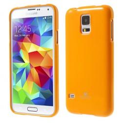 """""""Mercury"""" dėklas - geltonas (Galaxy S5 / S5 Neo)"""