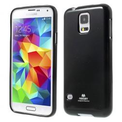 """""""Mercury"""" dėklas - juodas (Galaxy S5 / S5 Neo)"""