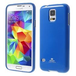 """""""Mercury"""" dėklas - mėlynas (Galaxy S5 / S5 Neo)"""