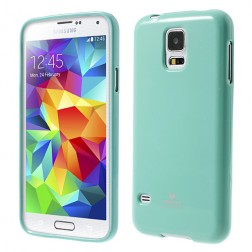 """""""Mercury"""" dėklas - mėtinis (Galaxy S5 / S5 Neo)"""