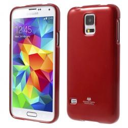 """""""Mercury"""" dėklas - raudonas (Galaxy S5 / S5 Neo)"""