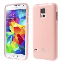 """""""Mercury"""" dėklas - šviesiai rožinis (Galaxy S5 / S5 Neo)"""