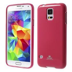 """""""Mercury"""" dėklas - rožinis (Galaxy S5 / S5 Neo)"""