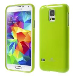 """""""Mercury"""" dėklas - žalias (Galaxy S5 / S5 Neo)"""