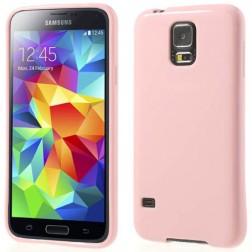 """""""Jelly Case"""" dėklas - rožinis (Galaxy S5 / S5 Neo)"""